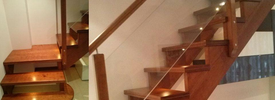 Scala da interno in legno