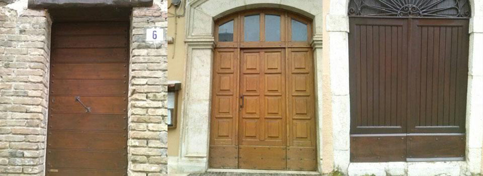 Porte e portoni in legno