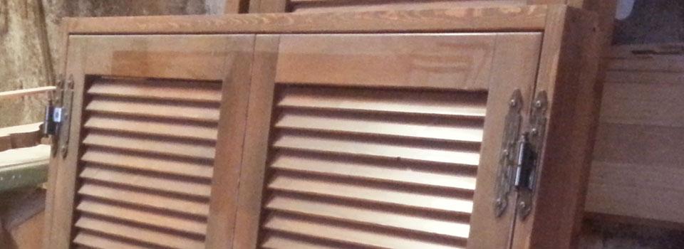 Persiana in legno